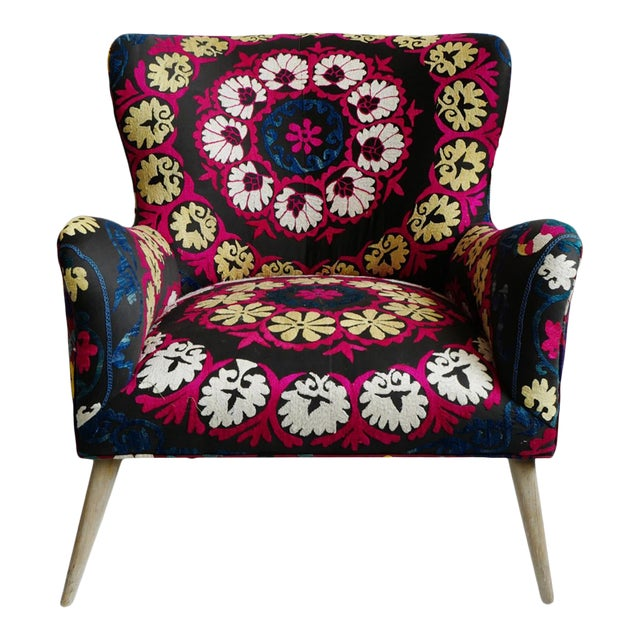 Zena Suzani Arm Chair For Sale