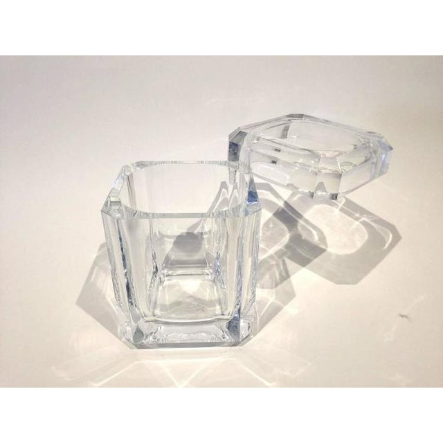 Faceted Acrylic Ice Bucket - Image 3 of 4