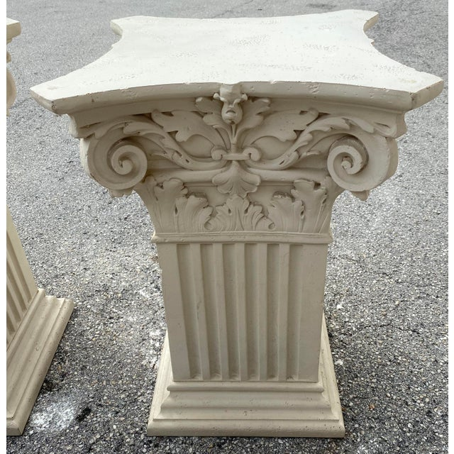 1980s Corinthian Acanthus Roman Dining Table Greek Table Base - 2 Pieces For Sale In West Palm - Image 6 of 10