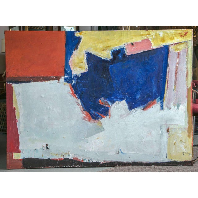 1960s Abstract Painting For Sale - Image 4 of 4
