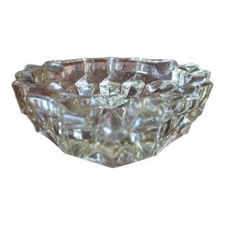 Vintage Cut Crystal Ash Tray