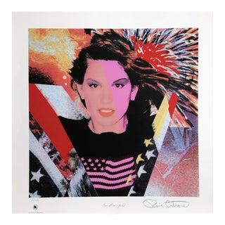 """Ronnie Cutrone, """"Cindy Crawford"""", Pop Art Portrait"""