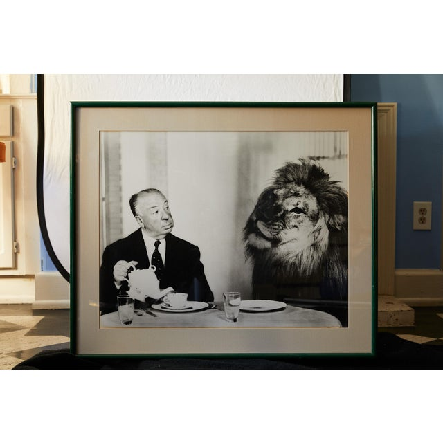 American Photograph of Alfred Hitchcock and m.g.m. Lion by Clarence Sinclair Bull For Sale - Image 3 of 8