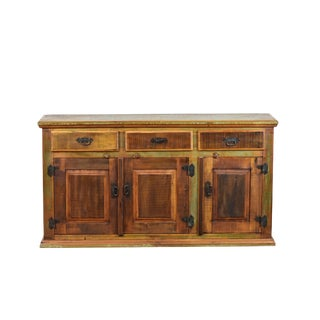 Rustic Buffet Sideboard 100% Solid Reclaimed Wood