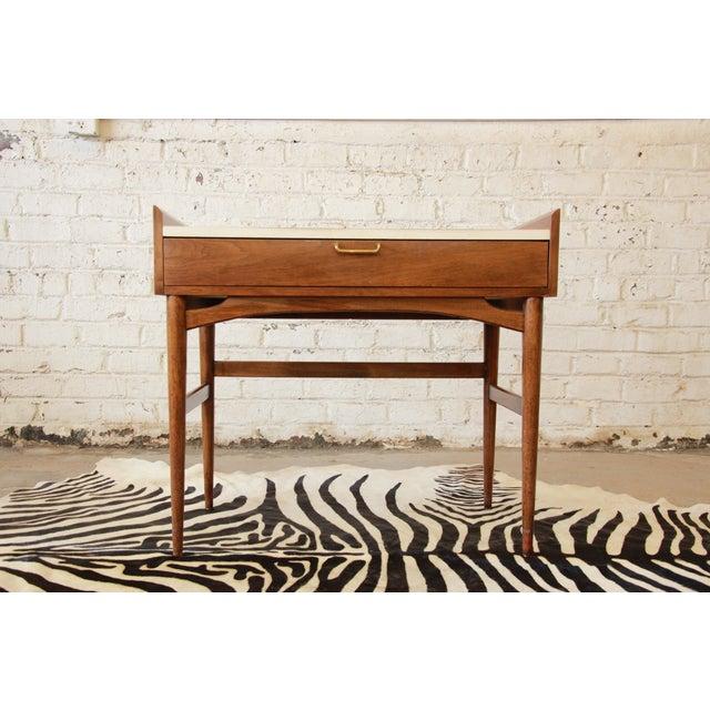 Merton Gershun Mid-Century Modern Desk - Image 2 of 11