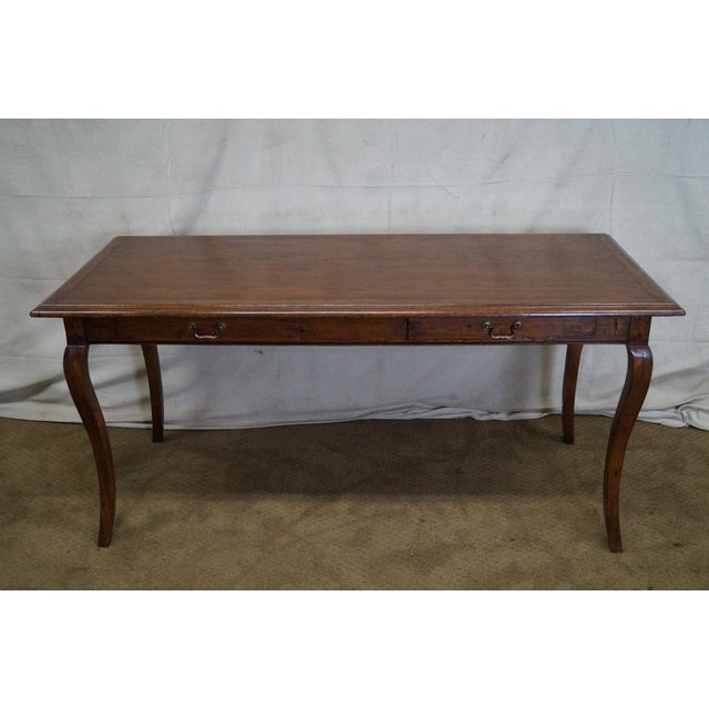 Guy Chaddock French Country Style Writing Desk - Image 2 of 10