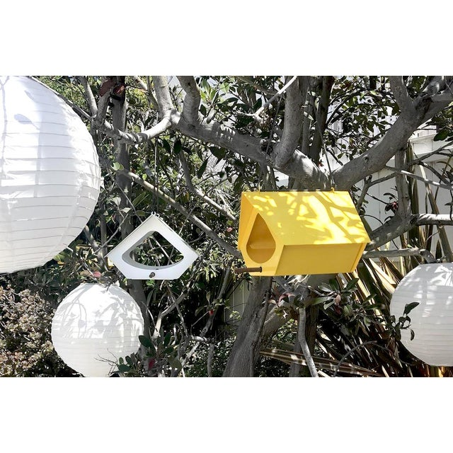 Not Yet Made - Made To Order Beekman Bird Feeder in Yellow For Sale - Image 5 of 9