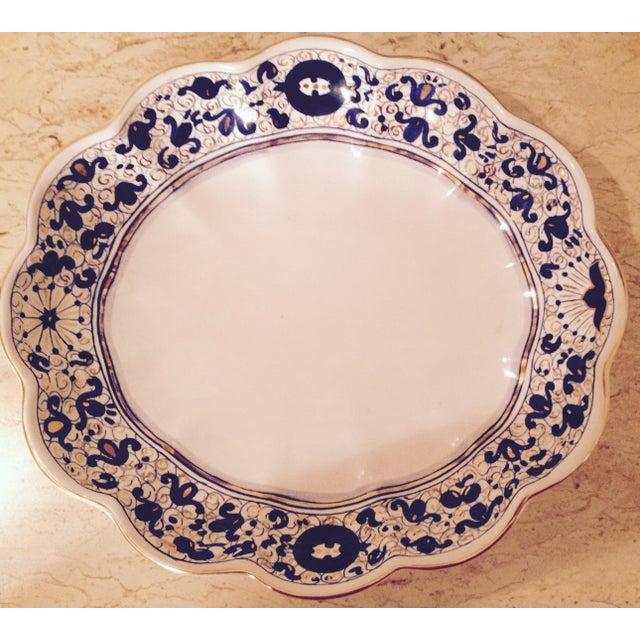 Italian Fine China Porcelain 24 Karat Gold Dish - Image 3 of 7