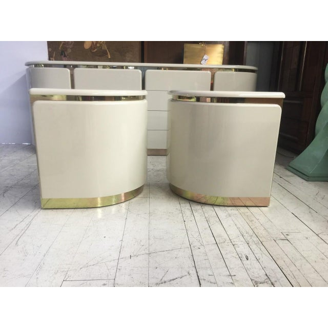 1960s White Italian Nightstands - A Pair - Image 3 of 3