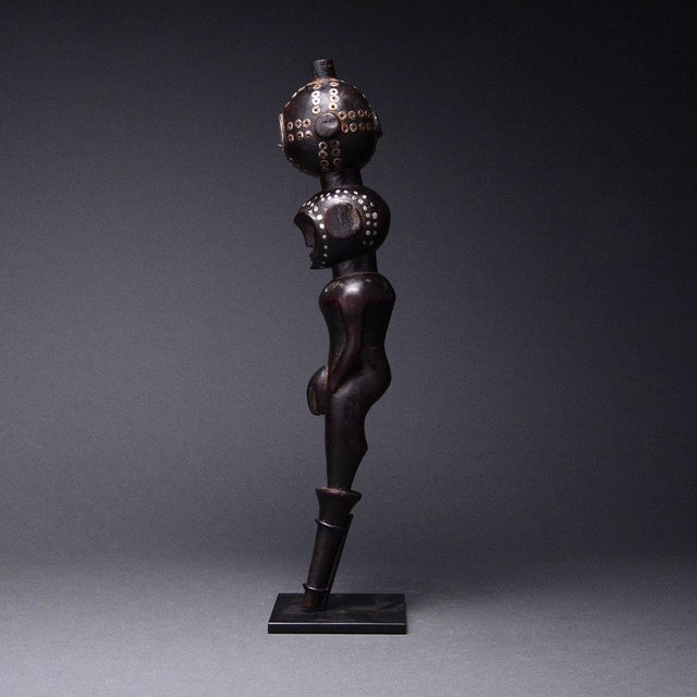 African Bongo Wooden Figure For Sale - Image 3 of 5