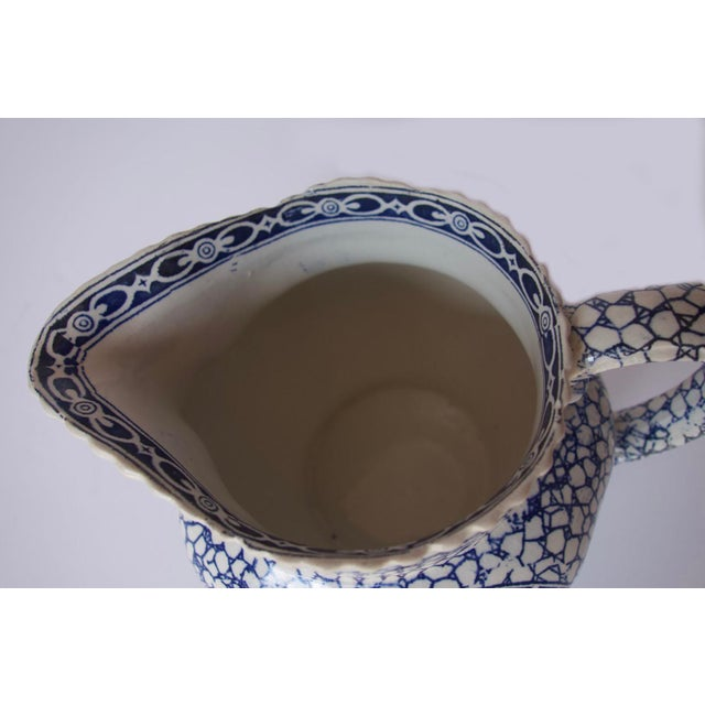 1930's Vintage William Adams Chinese Bird Pattern Bowl & Jug For Sale - Image 10 of 13
