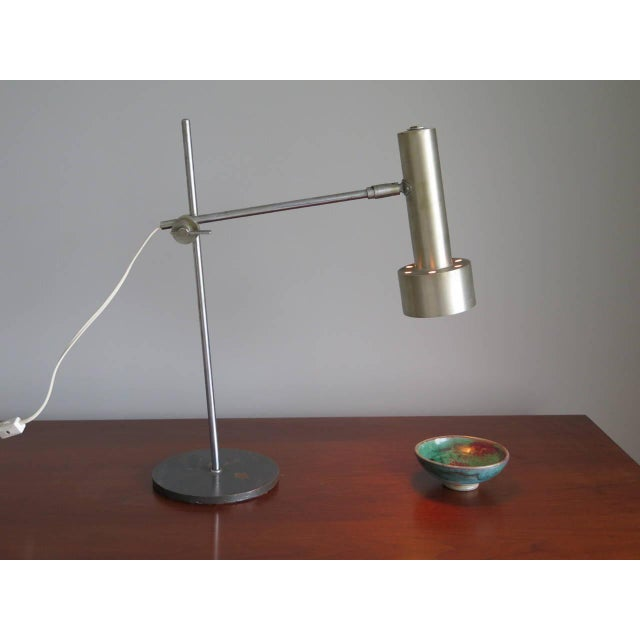 Silver Classic Table Lamp by RAAK For Sale - Image 8 of 9