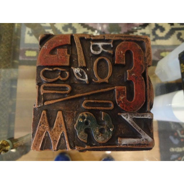 Mid Century Modern Alpha Cube Sculpture by Sheldon Rose For Sale - Image 9 of 13