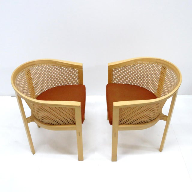 1980s Vintage Rud Thygesen & Johnny Sørensen Model 7703 King Series Armchairs- A Pair For Sale In Los Angeles - Image 6 of 13
