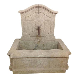 French Tan Marquise Fountain For Sale