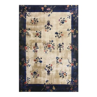 1920s Chinese Art Deco Rug For Sale