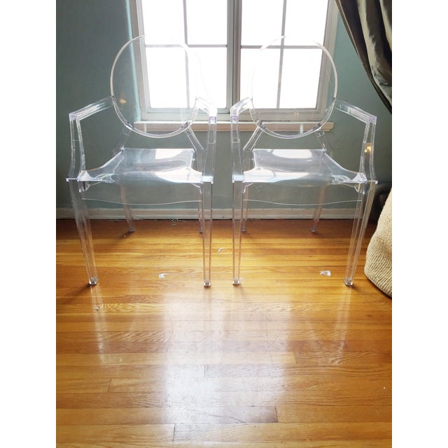ModShop Replica Louis Ghost Chair - Pair - Image 2 of 4