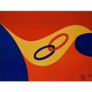 Alexander Calder Friendship (Flying Colors Collection) 1974 For Sale