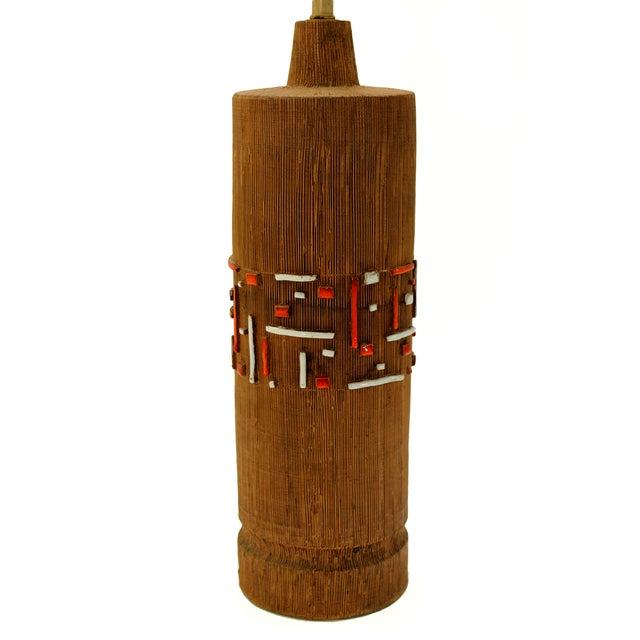 Aldo Londi Mid-Century Ceramic Lamp - Image 6 of 7