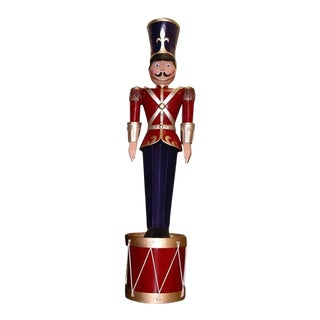 10' Toy Soliders on a Drum For Sale