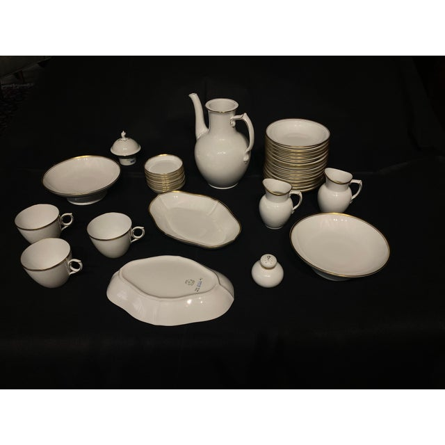 Traditional 1960s Tea Set by Royal Copenhagen - Set of 35 For Sale - Image 3 of 10
