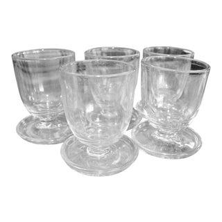 Egg Shaped Glasses - Set of 5 For Sale