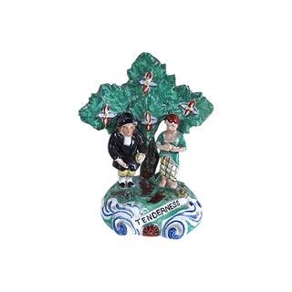 "Antique Staffordshire ""Tenderness"" Figure For Sale"