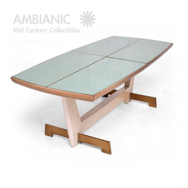 Custom Coffee Table After Gio Ponti For Sale - Image 4 of 6