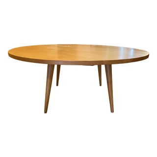 Early 1948 Paul McCobb 'Planner Group' Round Maple Coffee Table For Sale