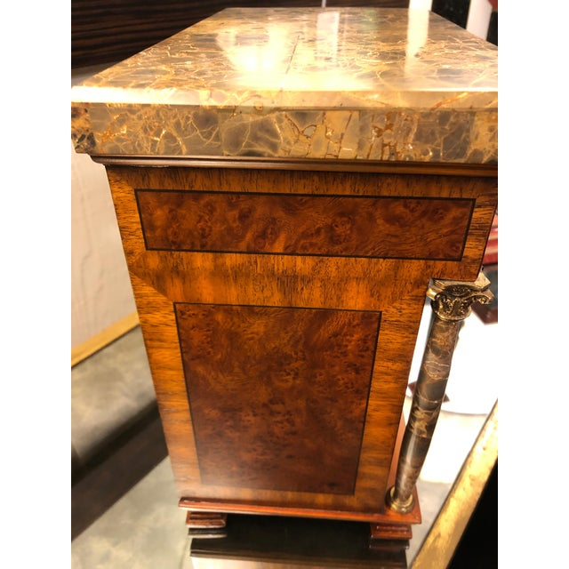 Vintage Neoclassical Credenza Tabletop Treasure Box For Sale In Philadelphia - Image 6 of 12