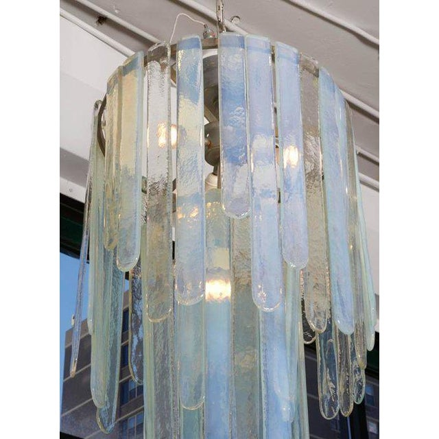 Spectacular Cascading Mazzega Chandelier For Sale - Image 4 of 5