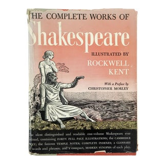 Shakespeares Works Illustrated by Rockwell Kent For Sale