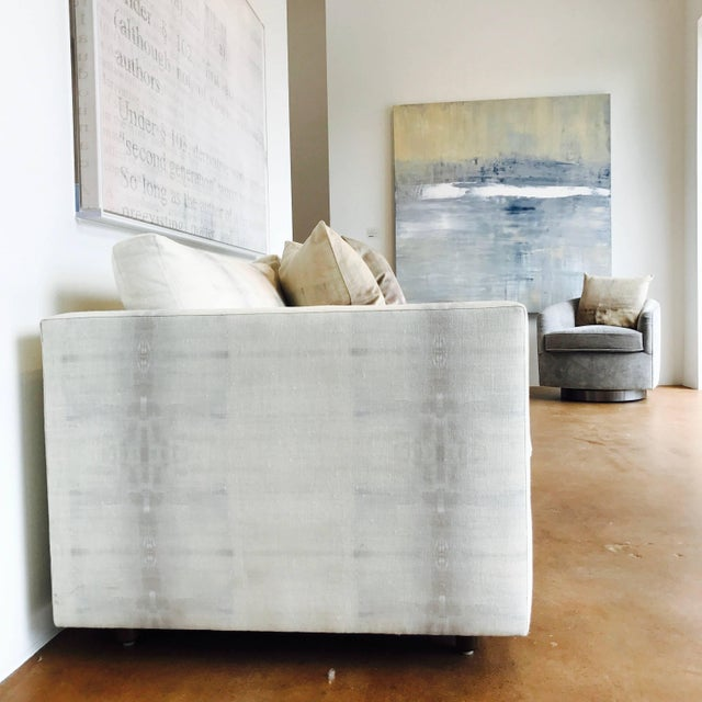 Mid-Century Modern Tuxedo Sofa by Martin Brattrud For Sale - Image 3 of 7