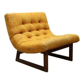 1970s Adrian Pearsall Craft Associates Scoop Chair For Sale