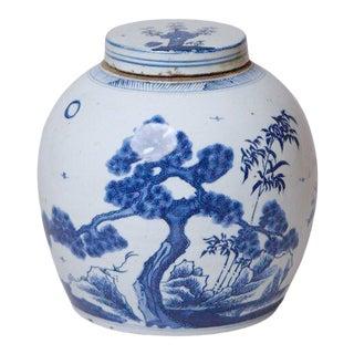 Contemporary Three Friends Storage Jars Porcelain by Cobalt Guild