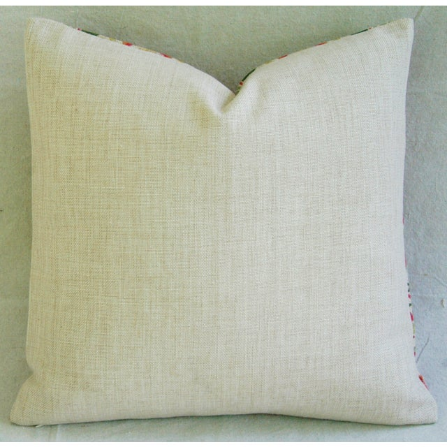 """Chic Spring Floral Blossom Feather/Down Linen Accent Pillow 20"""" - Image 4 of 4"""