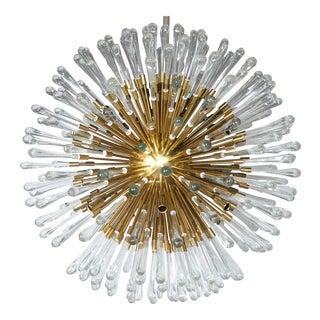 Austrian Sputnik 20 Light Pendant Fixtures (4 Available) For Sale