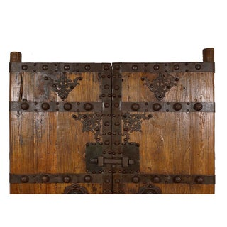 19th Century Antique Chinese Massive Court Yard Door Preview