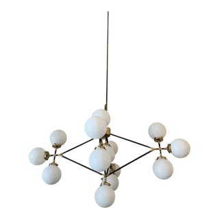 Visual Comfort Ian K. Fowler Bistro Four Arm Chandelier For Sale