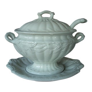 1930s Ironstone Tureen For Sale