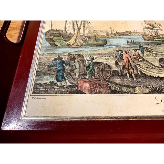 Shabby Chic Serving Tray For Sale - Image 9 of 11