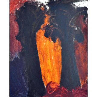 Contemporary Abstract Expressionist Oil Painting For Sale