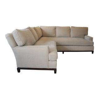 Modern Kravet Custom Sectional For Sale