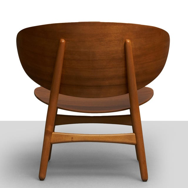 Hans Wegner Hans Wegner Shell Lounge Chairs For Sale - Image 4 of 8