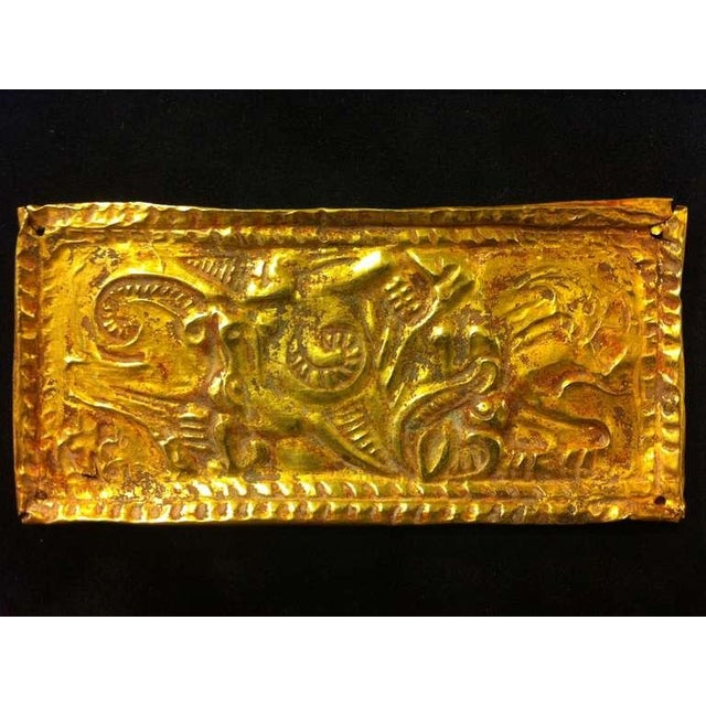 15th Century & Earlier Set of Ordos Culture Gold Plaques For Sale - Image 5 of 7