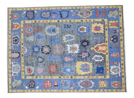 Image of Cerulean Contemporary Handmade Rugs