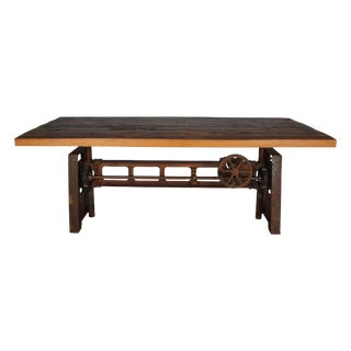 Rustic Baylen Wooden Coffee Table For Sale
