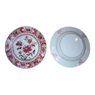 Three 18th Century Chinese Export Plates