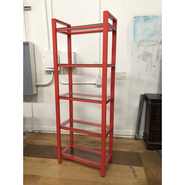 Design Plus Gallery present s a Pilsen Bookcase by Crate & Barrel. Designed by Mark Daniel, a mix industrial design of...