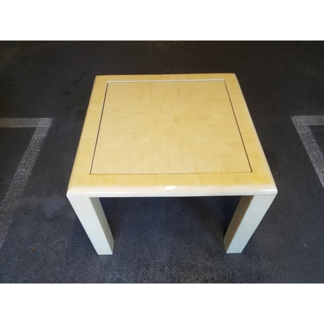 1970's Tessellated Bone Gaming Table For Sale - Image 10 of 12